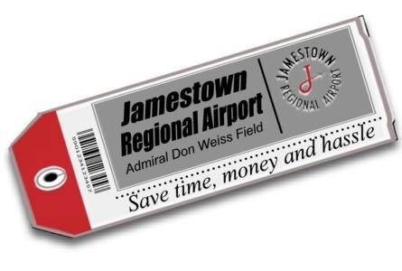 Jamestown airline boardings down, Sept. 2019