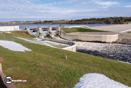 Baldhill Dam releases to fluctuate