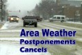 Weather Cancels and Postponements Oct 13