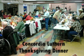 Thanksgiving Dinner at Concordia Lutheran Cancelled