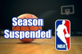 NBA suspends season after player tests positive