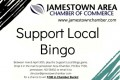 "Jmst Chamber's  ""Support Local Bingo Game."""