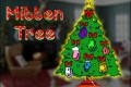 JRVLS Mitten Tree receiving donations