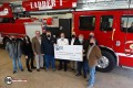 GRE Donates $250K To Fire Dept Ladder Truck