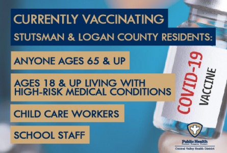 COVID Vaccination Clinics Planned Week of Mar. 1
