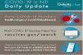 COVID Stats Sept 17 New Pos. Barnes +6 Stuts. +19