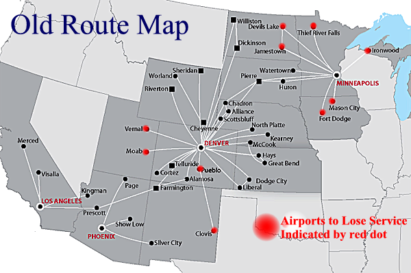 great lakes aviation route map Great Lakes Statement Suspends Service 6 Airports great lakes aviation route map