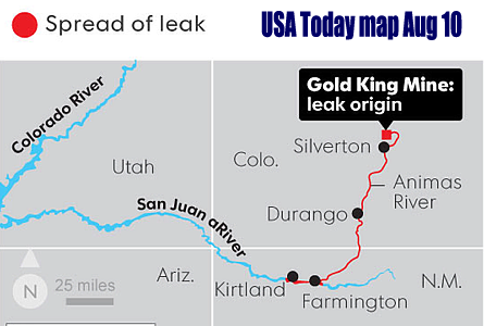 EPA mine spill larger  worse than feared