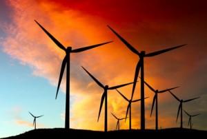 windfarmevening