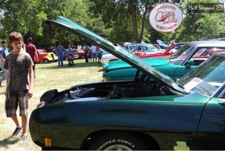 Buffalo Rally Car Show July McElroy Park - Buffalo car show