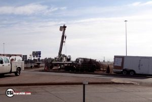 Highway 281, I-94 traffic signal work, on Feb 1