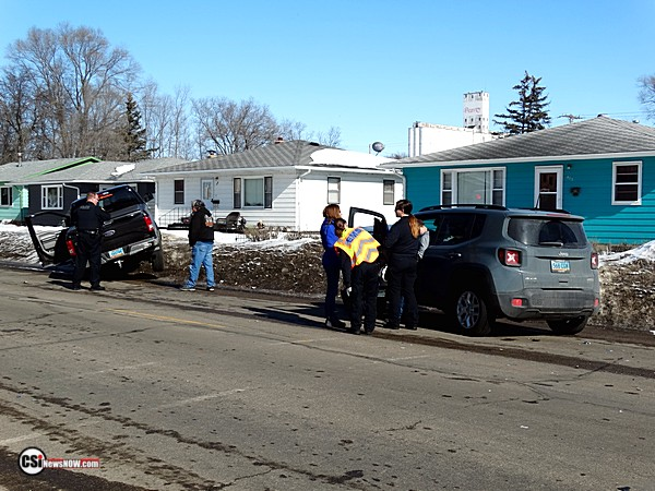 Crash at 5th St & 7th Ave SE     CSi photo