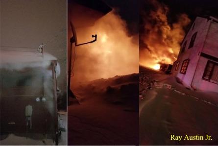 Apt fire NW Jamestown Feb 6   Ray Austin Jr.