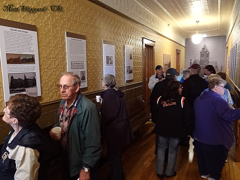 1883 Courthouse May 2016 Open House.  More CSi photos at Facebook