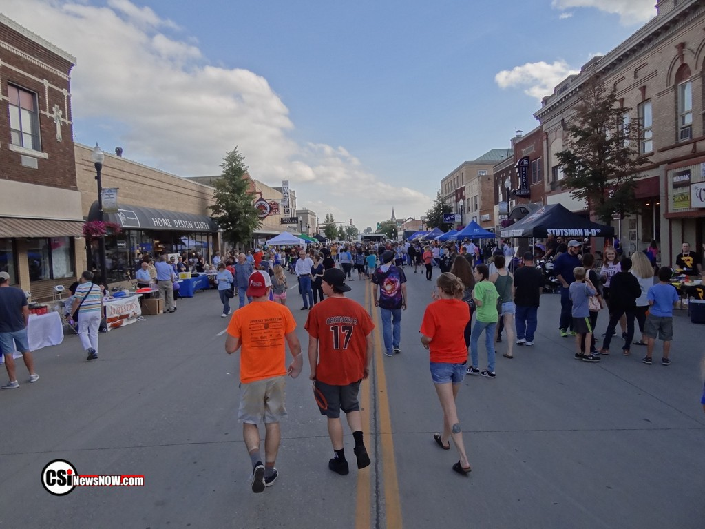 Block Party 2018 Downtown Jamestown     CSi Photo
