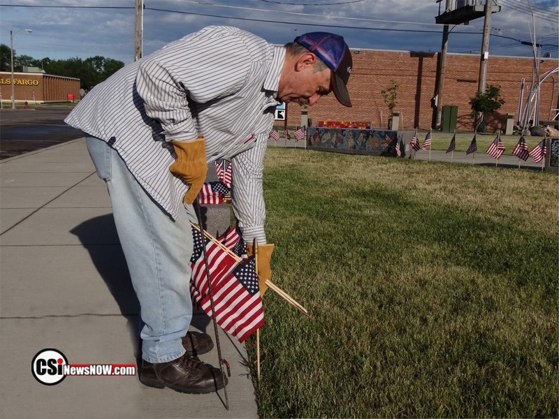 All Vets Club members observe Flag Day June 14 - CSi Photo