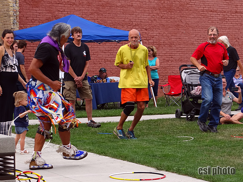 Kevin Locke - Hoop Dance at Arts Market - CSi Photos