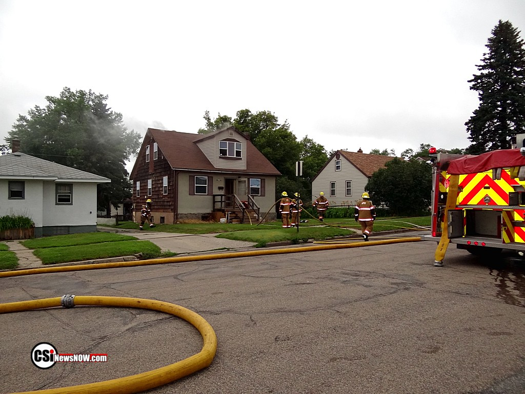 House Fire 1000 block of 7th Ave SE       CSi photo