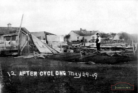 1909 Jamestown and area Tornado
