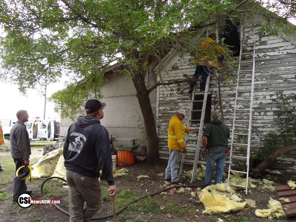 Courtney House Fire         CSi Photo