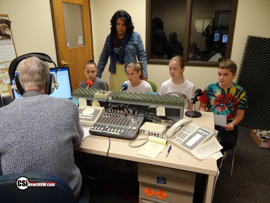 Mrs Fix Class 5th graders   CSi photo