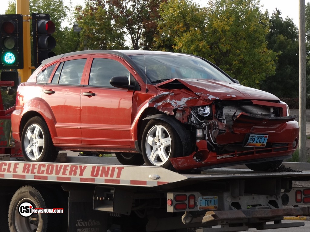 2 Vehicle crash in SE Jamestown   CSi photo