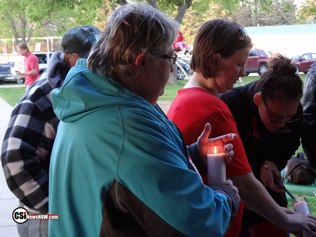 Nicole Gututala-Hoff Candlelight Vigil  CSi Photos
