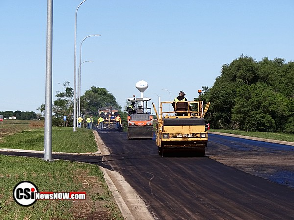Final Paving of the Road from JRMC to Menards  CSi photos