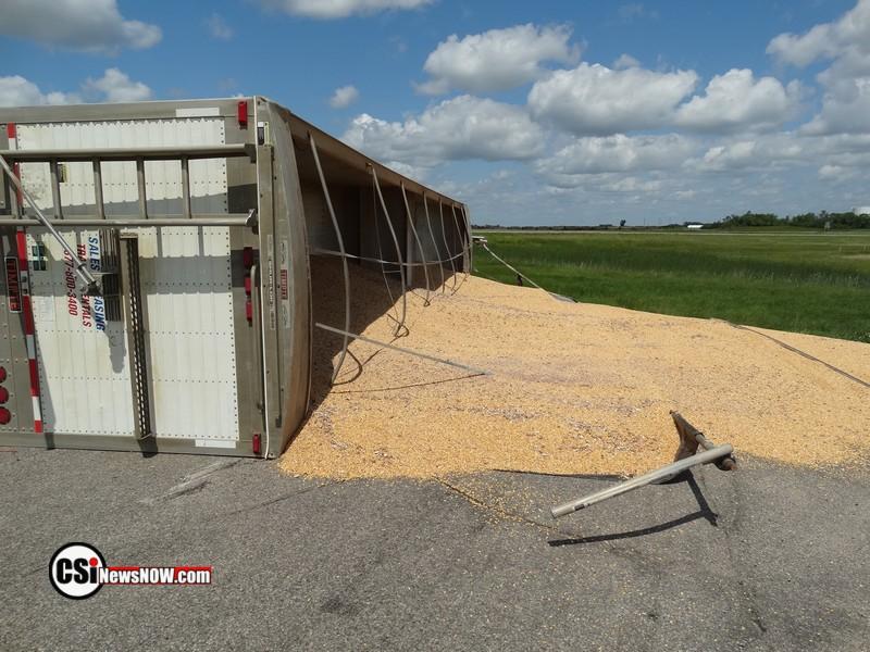 Semi Rollover at Exit 248   CSi Photo