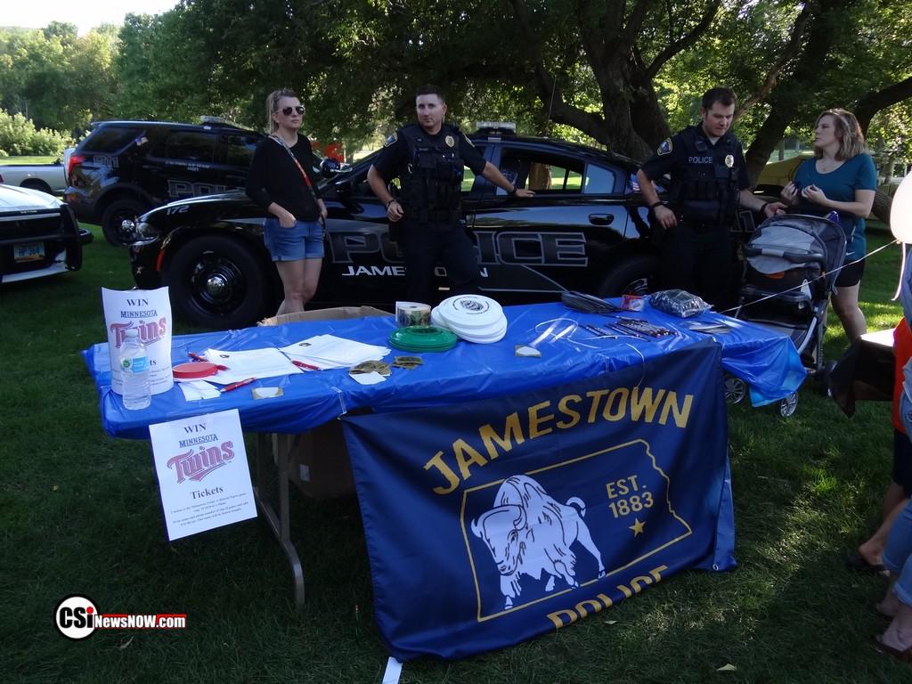 National Night Out Jamestown - More CSi pixs at Facebook