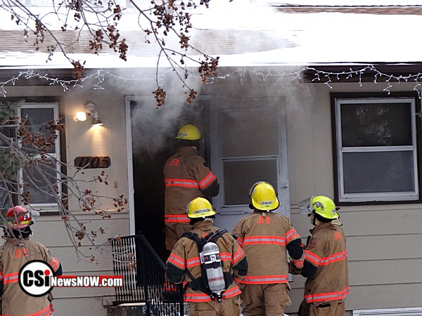 Fire 16th St SW Jamestown Feb 7 - CSiNewsNOW photos