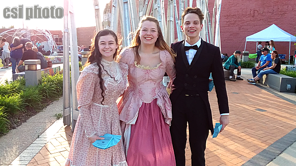 Actors from JHS musical of Little Women - June 27 & 28 at JHS