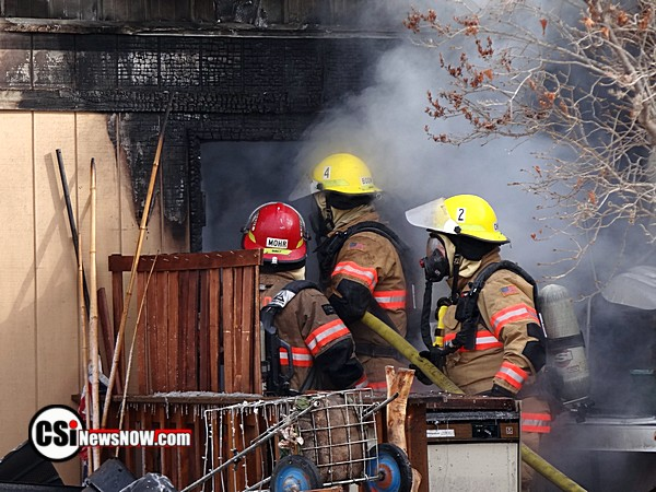 Fire at Sunnyside Feb 12 - More CSi pixs at Facebook