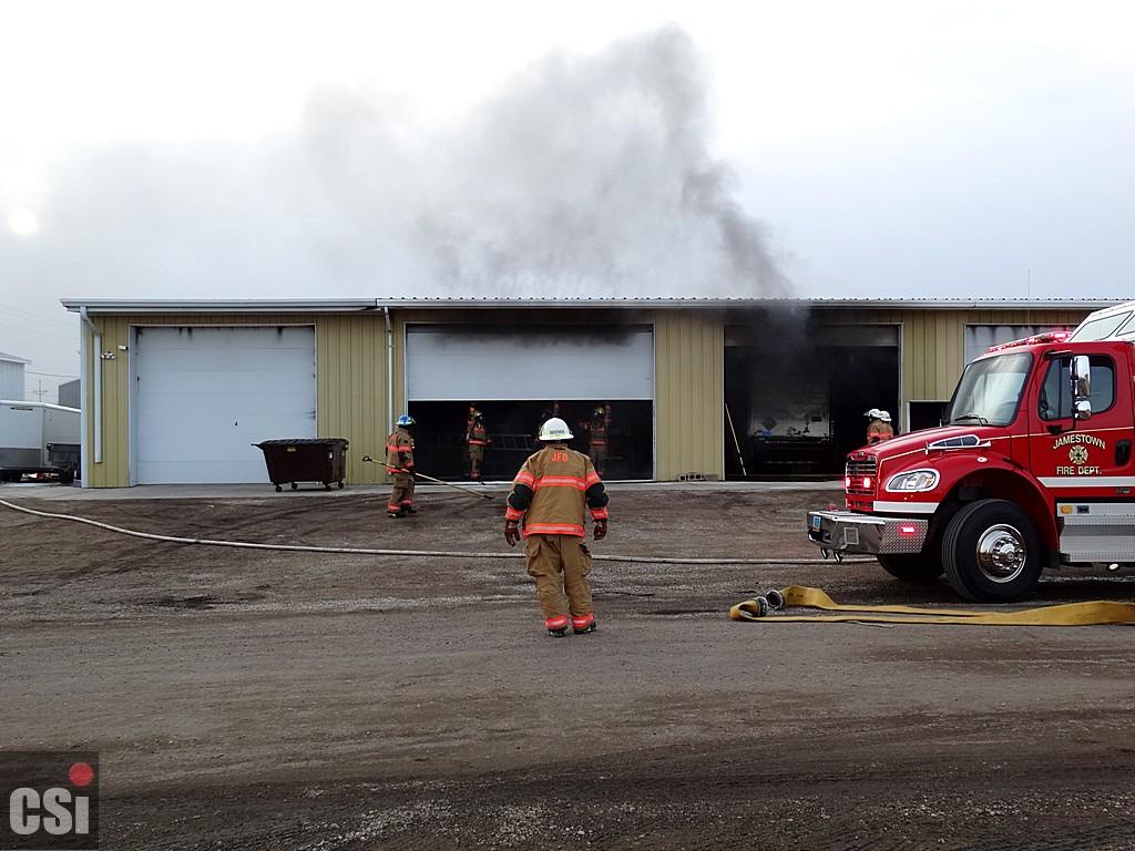 Truck Fire 1001 17th Street SW      CSi photo