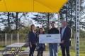 Cavendish donation to TRAC Splash Park
