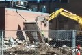 Last wall of Eagles Club came down Monday – Video