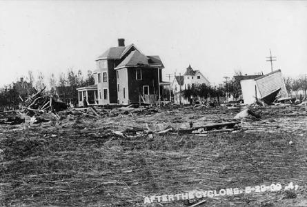 1909 Jamestown and area Tornado